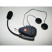 Wireless Bluetooth Intercom Motorcycle Helmet Headset Communicator(Embedded FM Radio) BT-9802 thumbnail image