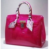 Guangzhou Supplier Fashionable Designer Jelly Ladies Handbag (J-1010)