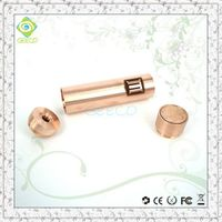 Geeco free sample from China manufacturer clone copper penny mod wax vaporizer thumbnail image