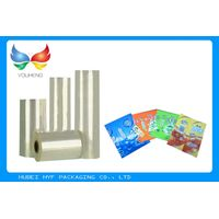 Metalized Shrink Pvc Film , Heat Shrink Plastic Sheets For Cosmetic Products
