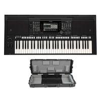 Yamaha PSR-S775 61-Key Digital Arranger Workstation with Knox Stand and Piano Bench thumbnail image