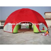outdoor giant hot selling tent,giant inflatable dome spider tent