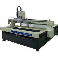 Cylinder 4 axis wood CNC router with 4 spindles SC2025CX4