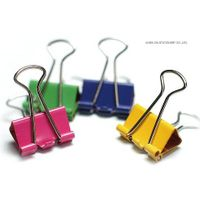 Aiven High Quality Non-Toxic Assorted Color Binder Clips