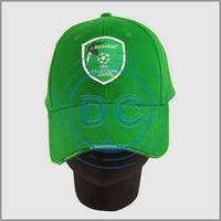 Super quality green color 100% 10X10 cotton embroidery logo baseball cap/promotional cap/low price c