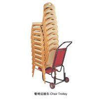 Hotel chair trolley