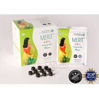1 Box = 10 Sachets/210 Pills Jamu Merit Herb for Dietary, Loss Weight, Loss Fat