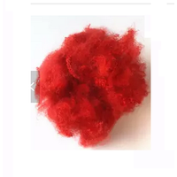 Recycled Red Polyester Staple Fiber for Home Textile thumbnail image