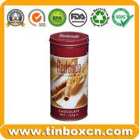 Chocolate Tin,Chocolate Box,Round tin can,food tin box