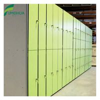 Colorful waterproof hpl locker for club gym thumbnail image