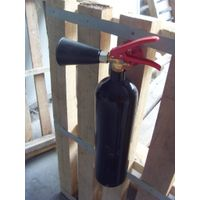 Portable fire extinguisher, ABC,  CO2 extinguisher