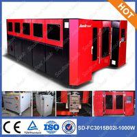 SD-FC3015-1000W metal fiber laser cutting machine thumbnail image