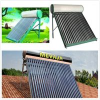 Split Vacuum Tube patented solar water heater system