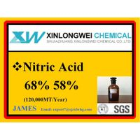 Industrial food oil mining metal textile dye fertilizer low price Nitric Acid HNO3 68% for sale CAS