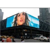 Outdoor Digital Advertising LED Background Wall, P6 Full Color Advertising HD LED Display Panel thumbnail image