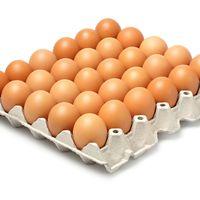 EGGS White/Brown Fresh Table Chicken Eggs thumbnail image