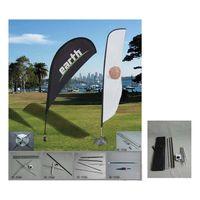promotional beach flagpoles