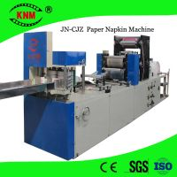 High speed printing/embossing napkin machine