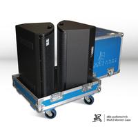 speaker Flight case blue custom color