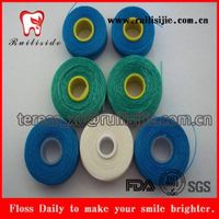 Bulk Dental Floss Spool Nylon PTFE Terylene UHMWPE Thread Floss Bobbin for Dental Refill