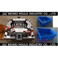 high quality injection plastic turnover box mould