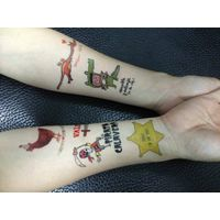 Beautiful party women party temporary tattoo sticker
