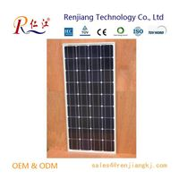135W Mono Solar Panel, High efficiency Made of A-grade Monocrystalline Cells With TUV/IEC/CE/CEC Cer