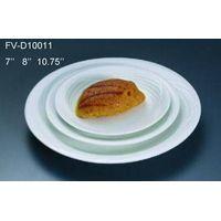 Strengthen porcelain dinner plate, round pasta plate, dinnerware, hotel supplies