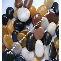 polished pebble, river pebble stone