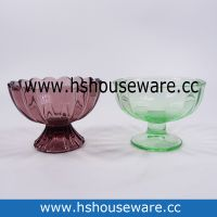 Glass Ice Cream Bowl
