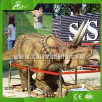 KAWAH Life Size Moving Simulation Triceratops Animatronic Dinosaur