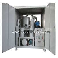 Enclosed Cabinet Type Transformer Oil Filtration Plant