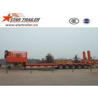 5 Axles Engineering Low Bed Semi-trailer