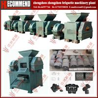Latest technology charcoal dust briquette making machine