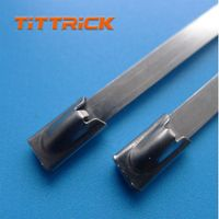 Tittrick Stainless Steel Cable Tie High Quality Zip Ties thumbnail image