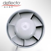 China Manufacturer Plastic In Iine Duct Fan Ventilation Exhaust Fan thumbnail image