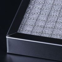 Screen diamond mesh perforated plate Glass fiber and stainless steel mixed knitting mesh/pp/silk cot thumbnail image