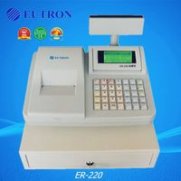 fiscal cash register with 58mm thermal line for retail,food service,special store ER-220