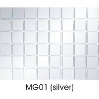 mirror silver crystal glass mosaic tile MG01