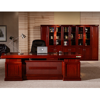 Chinese classical style simple and practical boss table high-end atmosphere computer desk desk