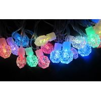 RGB diamond decoration LED string light for holiday Christmas wedding party