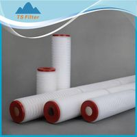 glass fiber membrane filter cartridge for high viscosity liquid oil filtration