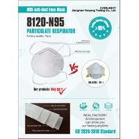 8120 Civil use KN95 Anti-dust Face Mask
