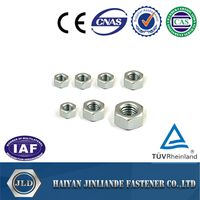 Stainless Steel Hex Head Nuts DIN934, DIN557, DIN982 DIN985 DIN439 DIN1587 DIN6923, Heavy Nuts
