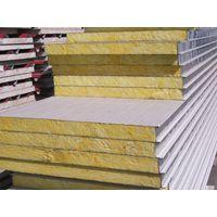 color steel light weight rockwool  sandwich panels for wall