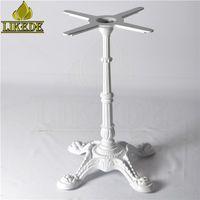 Antique European classic White cast iron table base dining table leg thumbnail image