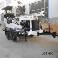 water well rigs sale JDT400 trailer drill