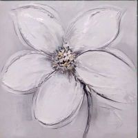 100% Handmade Oil painting Flower C style