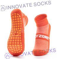 Sky Zone Ankle Anti Skid Grip Trampoline Park Socks thumbnail image