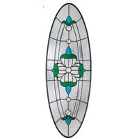 SGCC Wooden Doors Inlaid Glass High Quality Door Glass